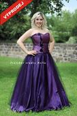 Výprodej - Plesové šaty fialové , 40