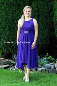 Společenské šaty fialové, 42