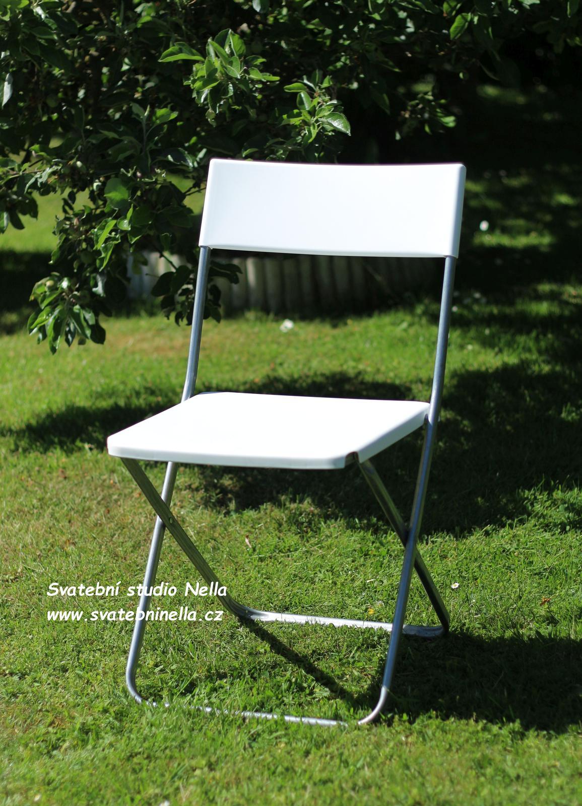 Skládací židle - pronájem - Obrázek č. 1