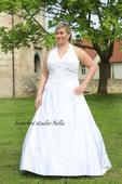 Svatební šaty pro plnoštíhlé M67, 50