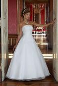 Svatební šaty XL vel. 44 -46 až 48, 48