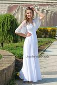 Empírové svatební šaty s korálkovou výšivkou, 34