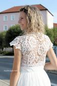 Svatební šaty s krajkou vel. 32, 32