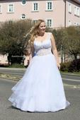 Svatební šaty s krajkou vel. 42, 42