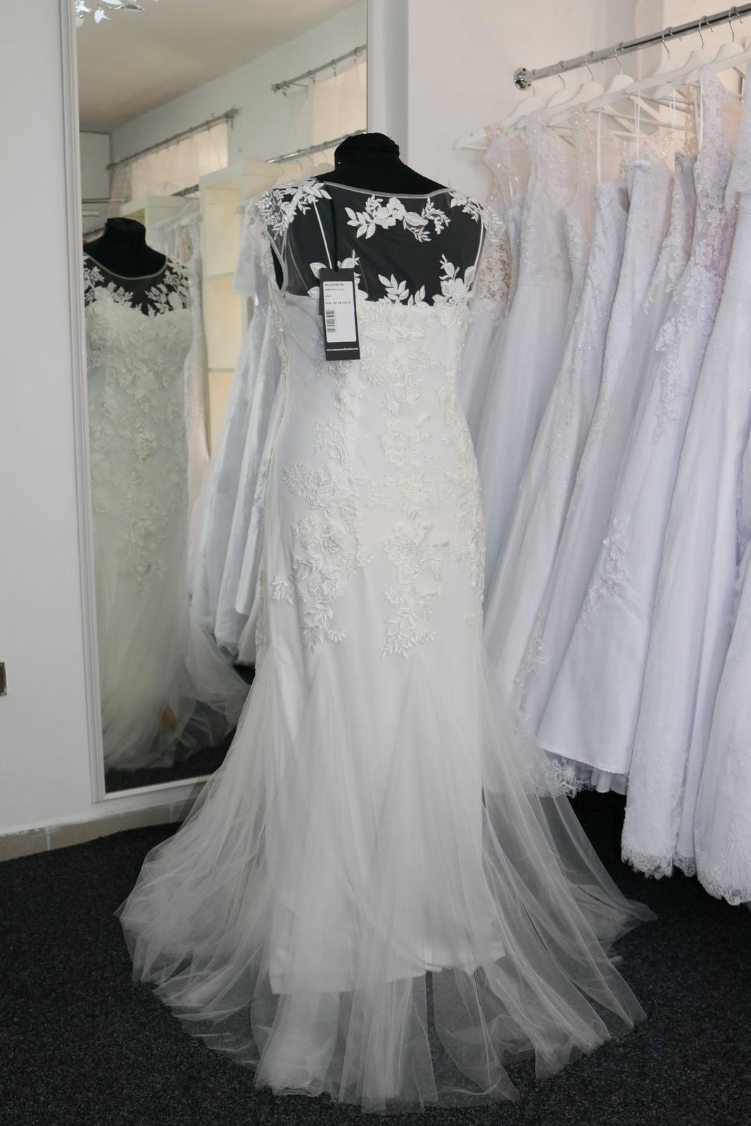 Nové svatební šaty krajkové vel. 46 - Obrázek č. 3