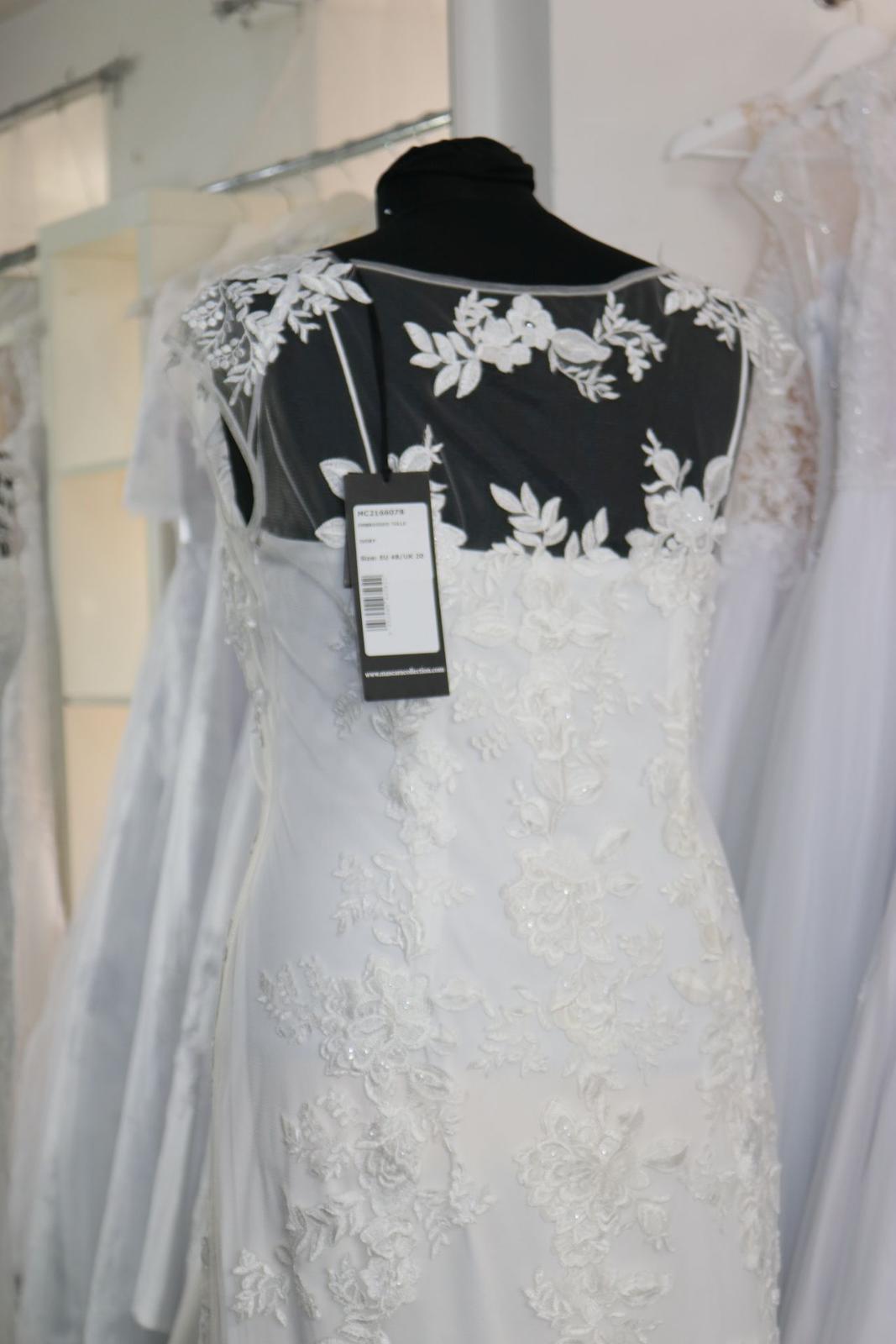 Nové svatební šaty krajkové vel. 46 - Obrázek č. 4