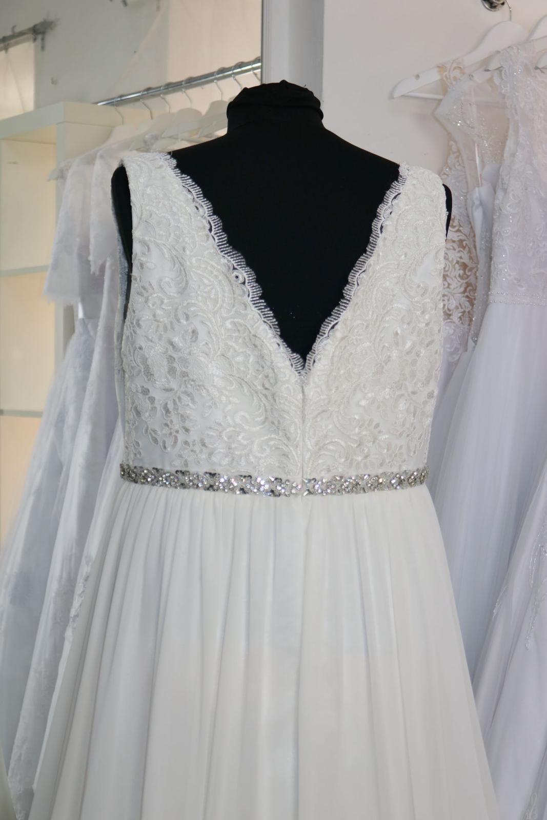 Nové svatební šaty boho vel. 48 - Obrázek č. 4