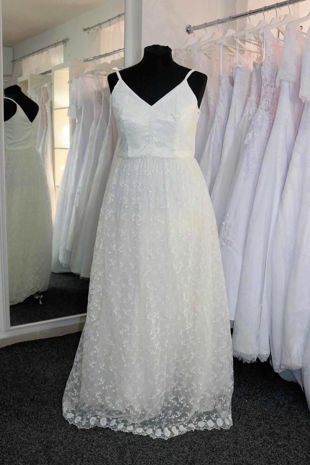 Nové svatební šaty boho vel. 42 - Obrázek č. 1