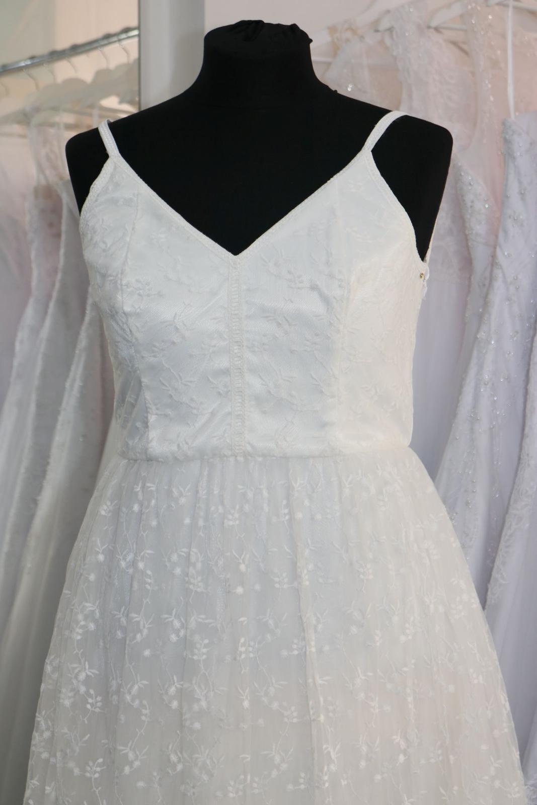 Nové svatební šaty boho vel. 42 - Obrázek č. 2