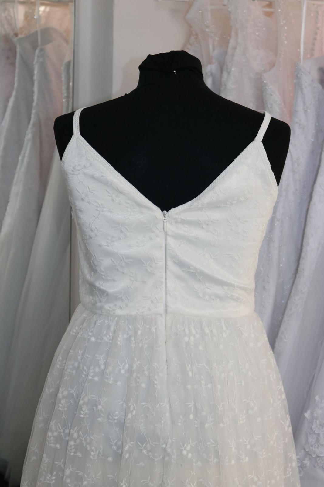 Nové svatební šaty boho vel. 42 - Obrázek č. 3