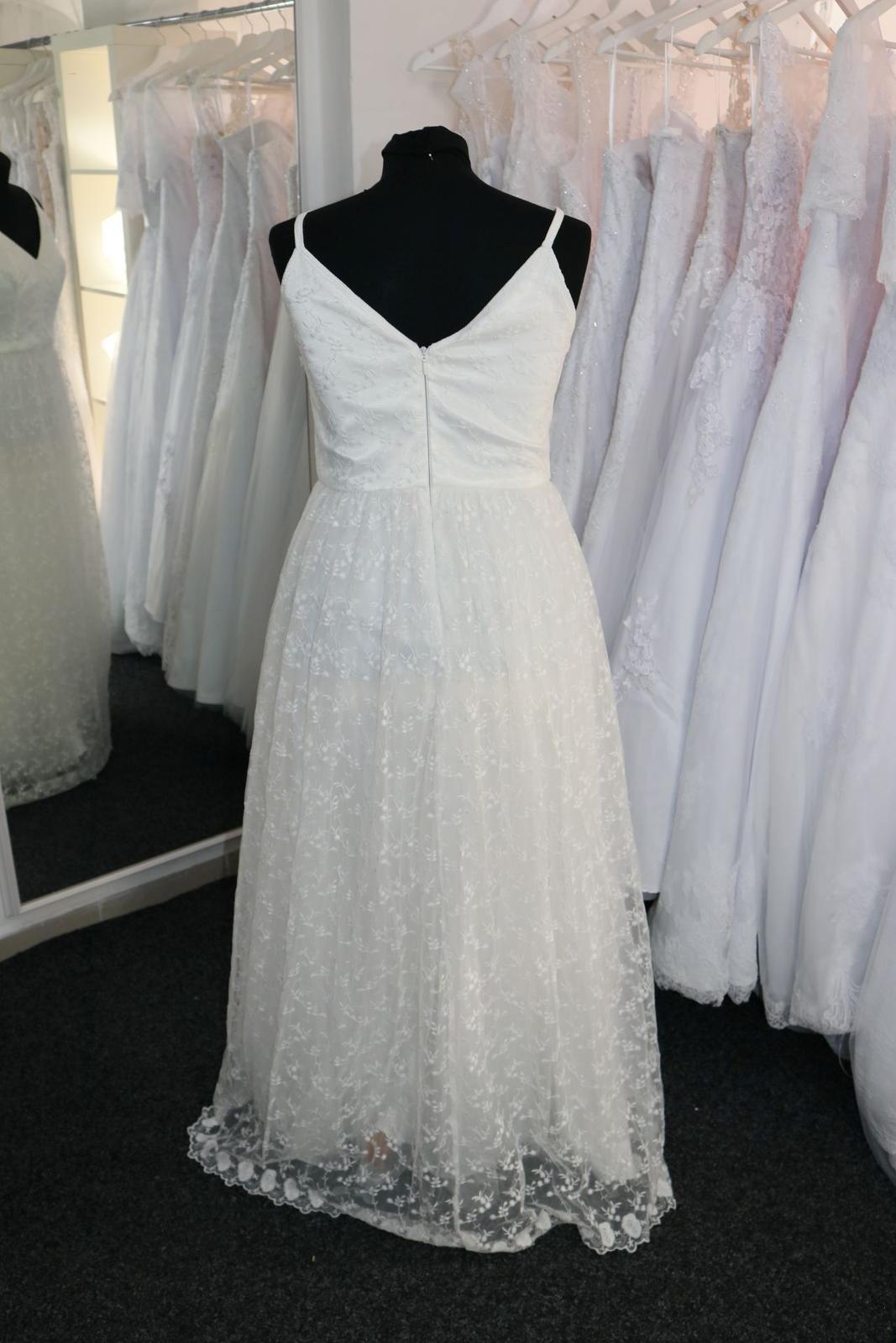 Nové svatební šaty boho vel. 42 - Obrázek č. 4