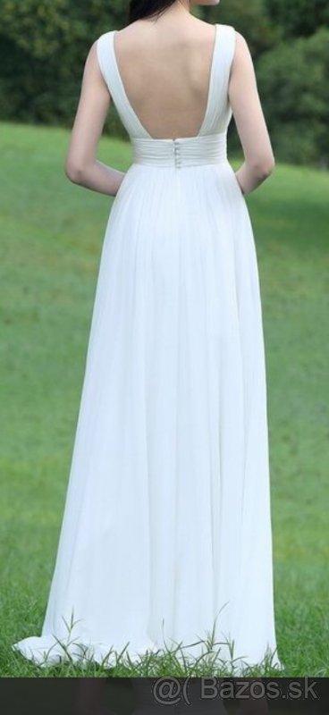 Romantické popolnočné šaty aj pre tehuľky - Obrázok č. 3