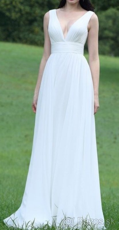 Romantické popolnočné šaty aj pre tehuľky - Obrázok č. 1