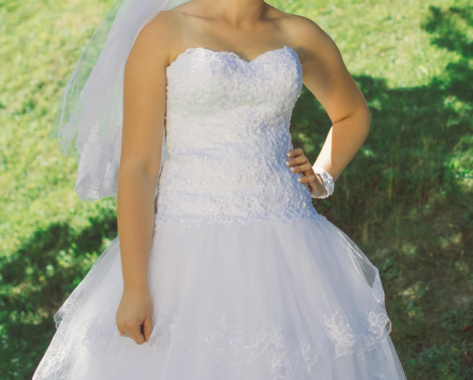 Princeznovské svadobné šaty - Obrázok č. 2