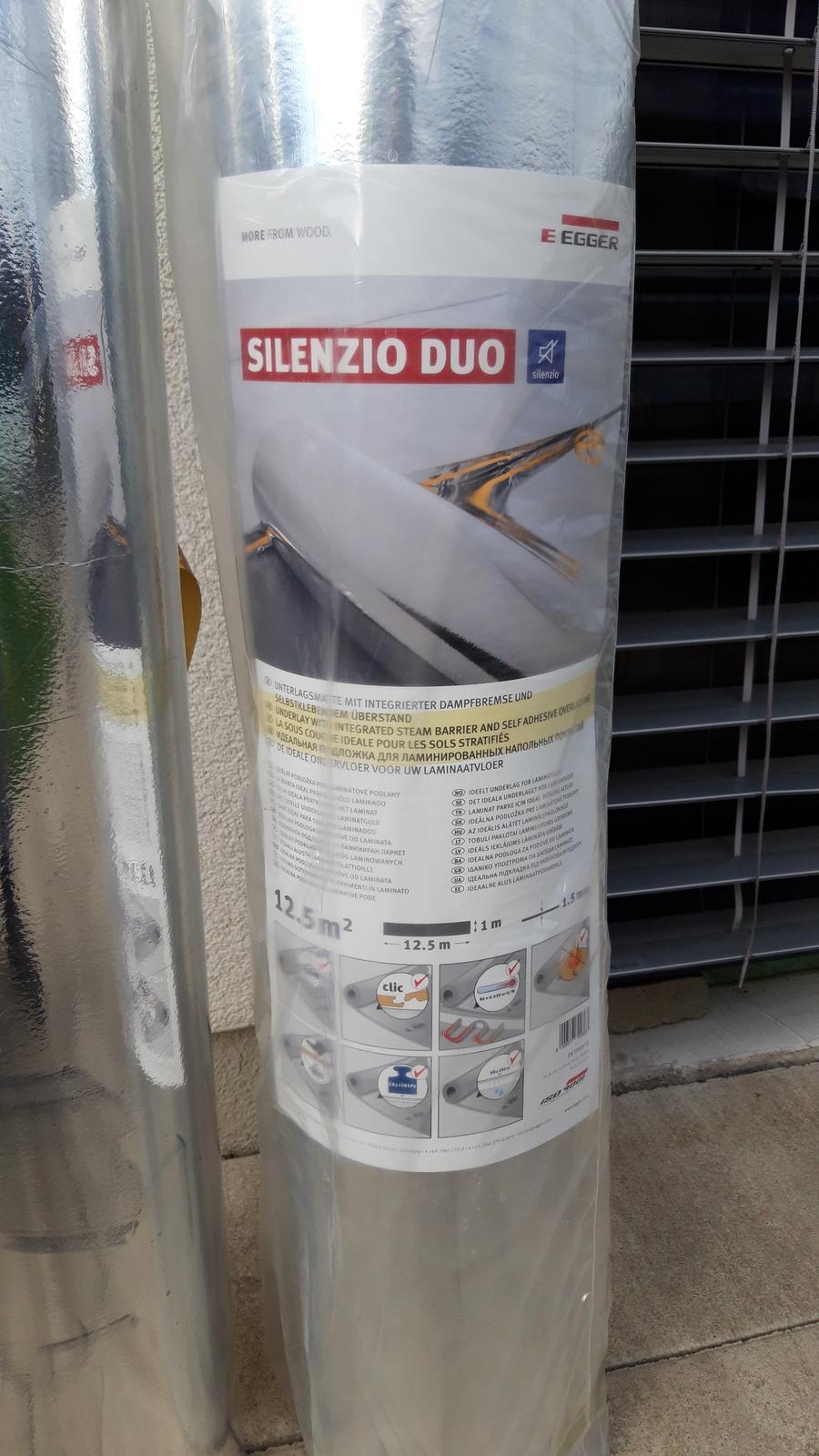 Podložka pod laminátovú podlahu Egger Silenzio Duo - Obrázok č. 1