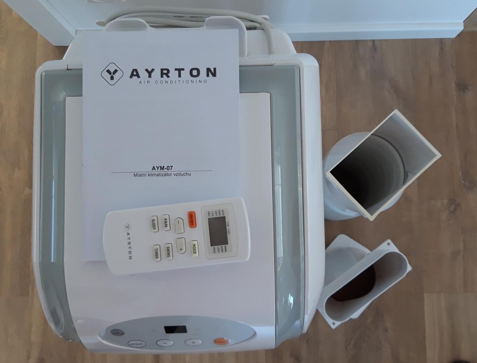 Mobilná klimatizácia AYRTON - Obrázok č. 2