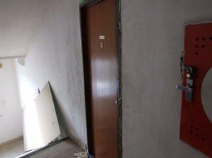 uz upraveny novy vstup do bytu