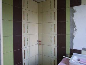 miesto pre sprchovy kut