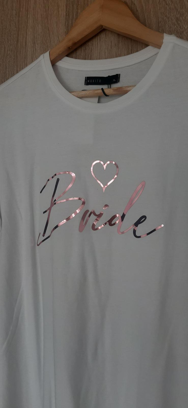 tričko pre nevestu - Obrázok č. 1