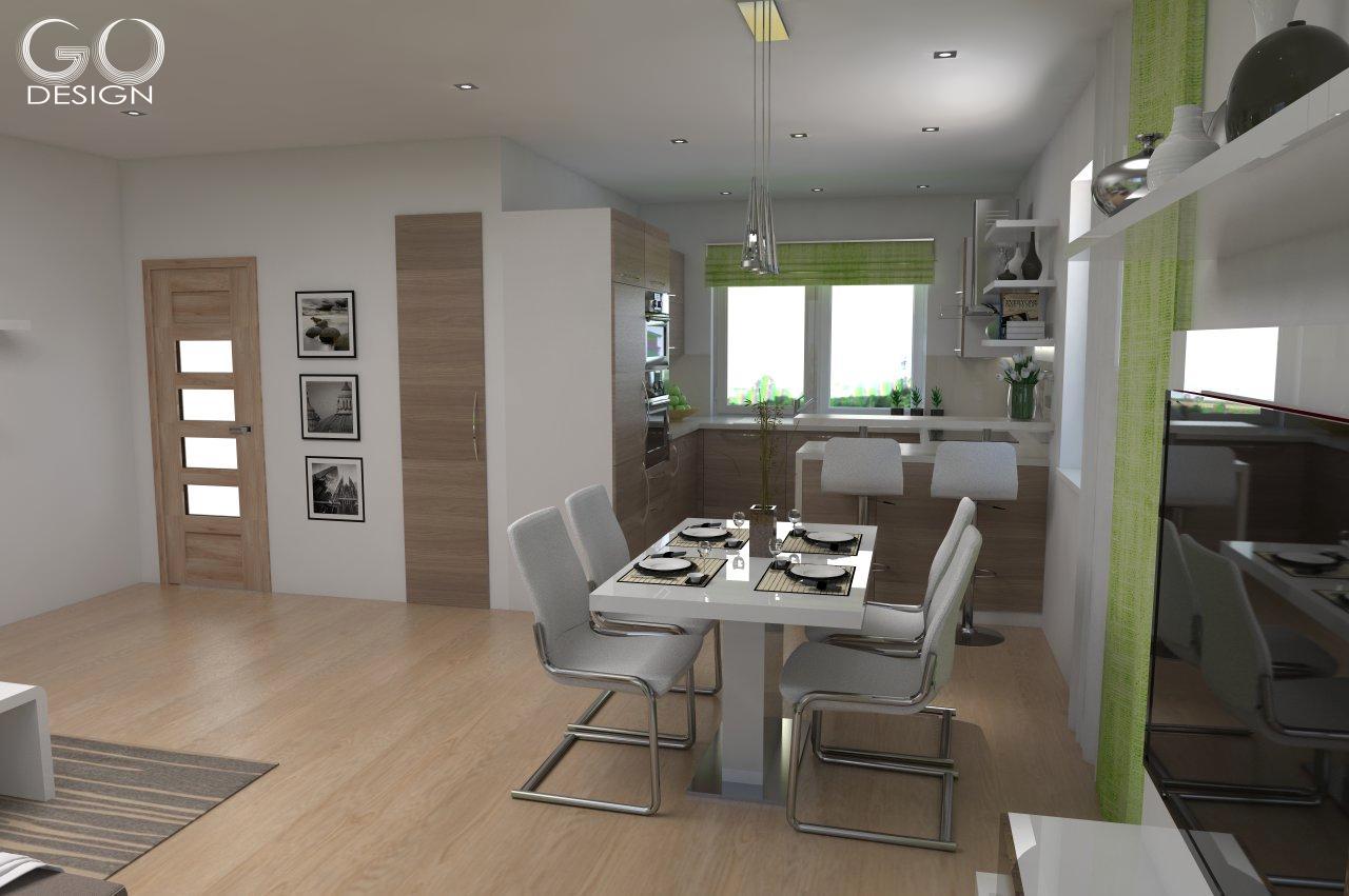 Rodinný domček so sviežim interiérom pre mladý pár - Viničné - Obrázok č. 6