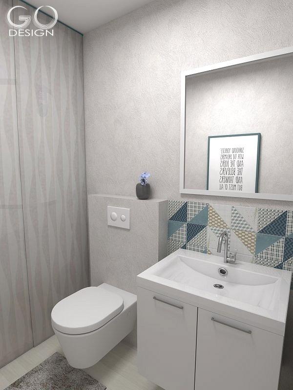 Návrh novostavby pri Bratislave - Malá toaleta spojená s technickou miestnosťou