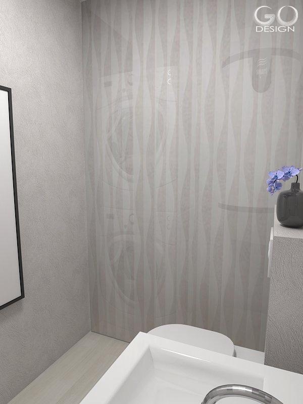 Návrh novostavby pri Bratislave - Práčku, sušičku a kotol sme ukryly za dekoračné panely
