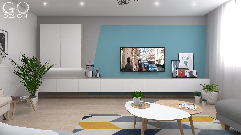 Návrh interiéru bytu v Sládkovičove - Obrázok č. 3
