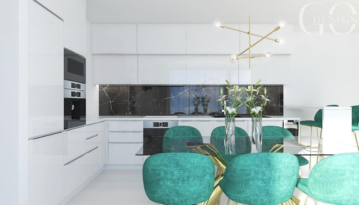 Návrh bytu v štýle glamour a art déco - Rezidencia Nová Koliba, Bratislava - Obrázok č. 2