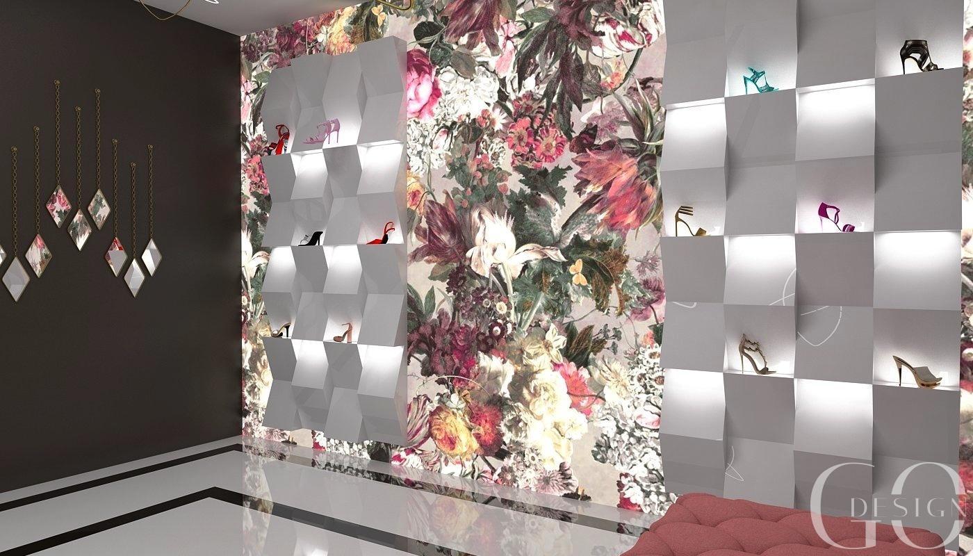 Návrh butiku v kvetinovom šate - Obrázok č. 2