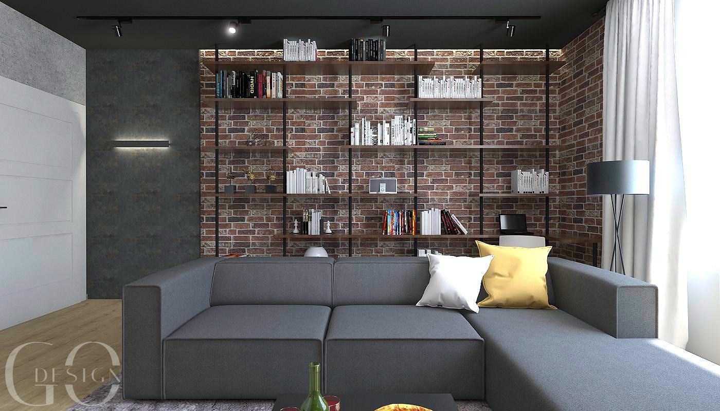Návrh staromestského bytu v loftovom štýle - Rožňava - Obrázok č. 6
