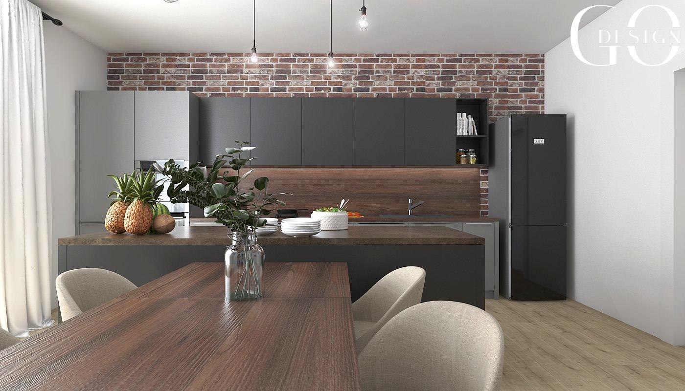 Návrh staromestského bytu v loftovom štýle - Rožňava - Obrázok č. 3
