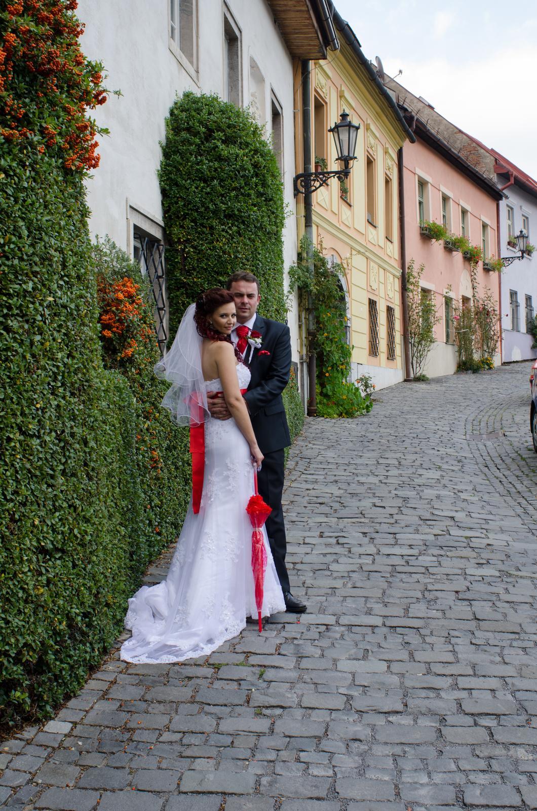 Monika{{_AND_}}Michal - Táto ulica je snáď tou najkrajšou v Banskej Štiavnici. Škoda len, že už nekvitli jej preslávené ruže.