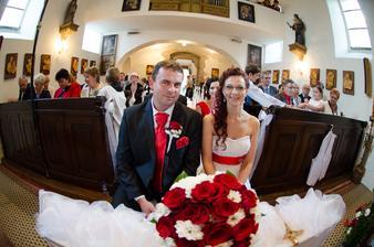 Už oficiálne manželia :-)