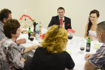 V salóniku pre kamarátov gratulantov :-)
