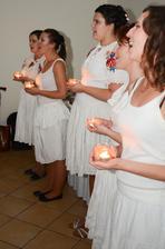 Dievčatá mi zaspievali. Takmer ako profesionálky.