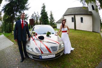 Niekto povedal, že sme ako svadobný dar dostali auto. Zrejme ten niekto myslel toto :-)