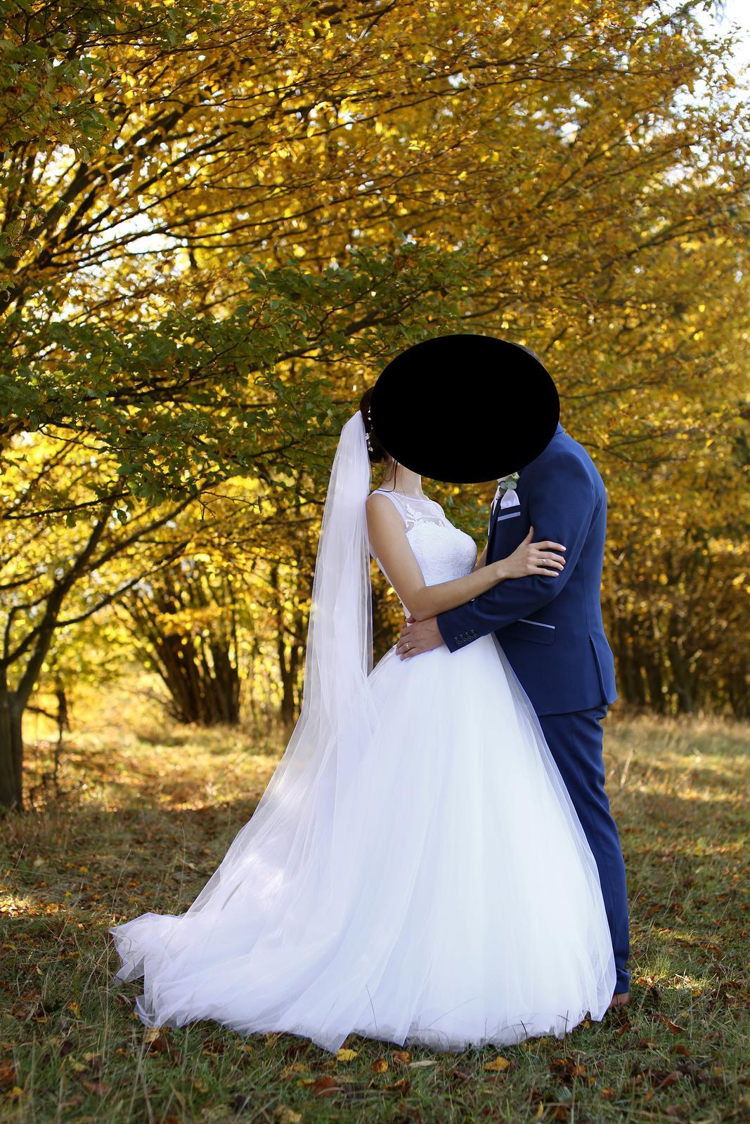 Svadobne šaty pre vysokú aj nízku postavu - Obrázok č. 1