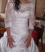 Svatební šaty+ 2x spodnice SLEVA, 36