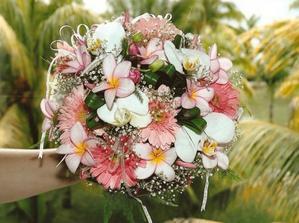 Možnosti svatebních kytic na ostrově...
