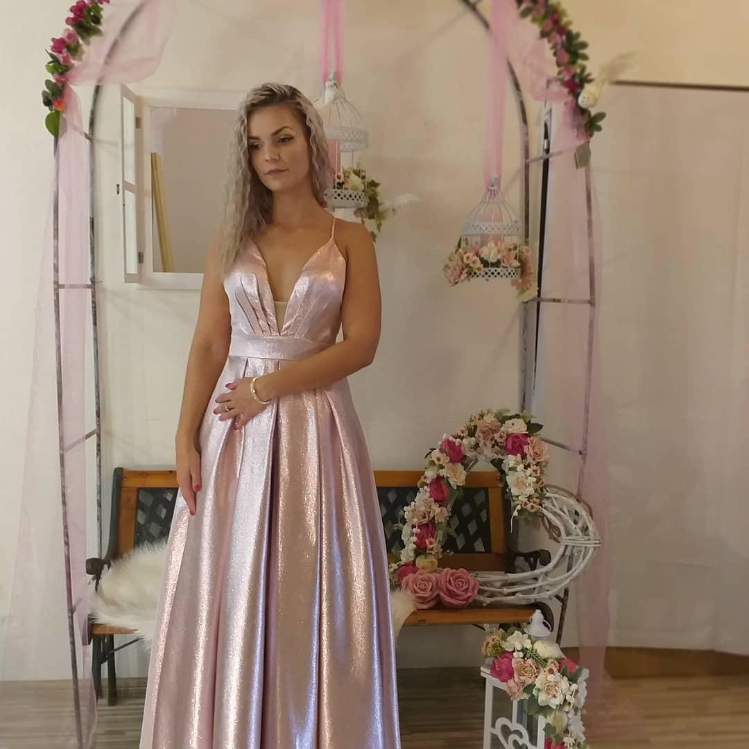 luxusné spoločenské šaty - Obrázok č. 3