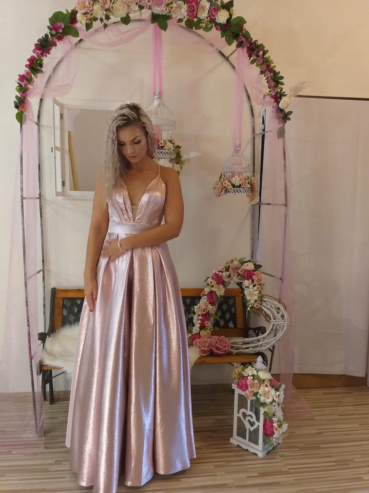 luxusné spoločenské šaty - Obrázok č. 4