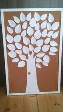 Strom na vzkazy hostů