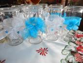 sklenice na svíčky 100kč/kus+pošta,