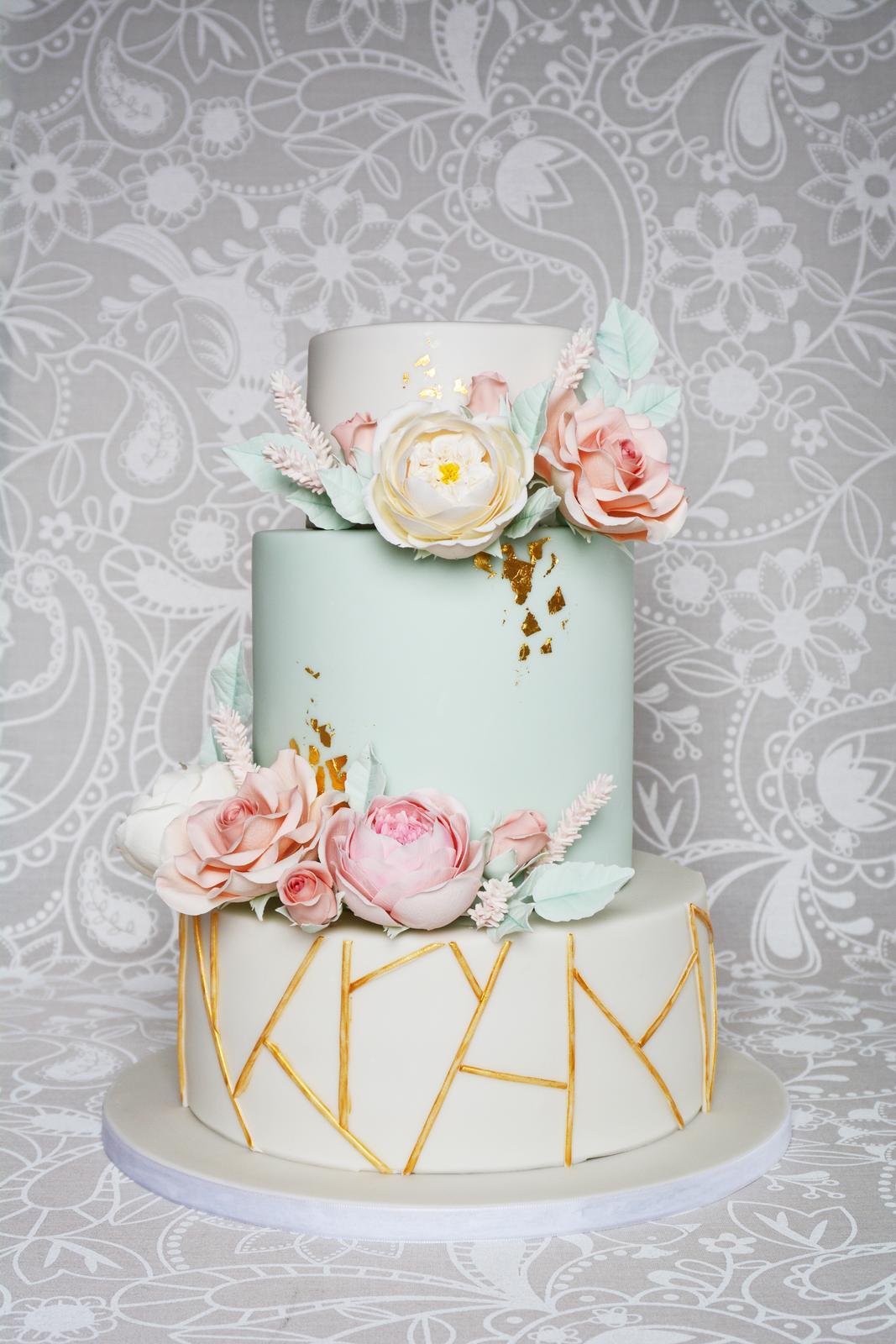 Svatební dort 4.5.2019. - Obrázek č. 1