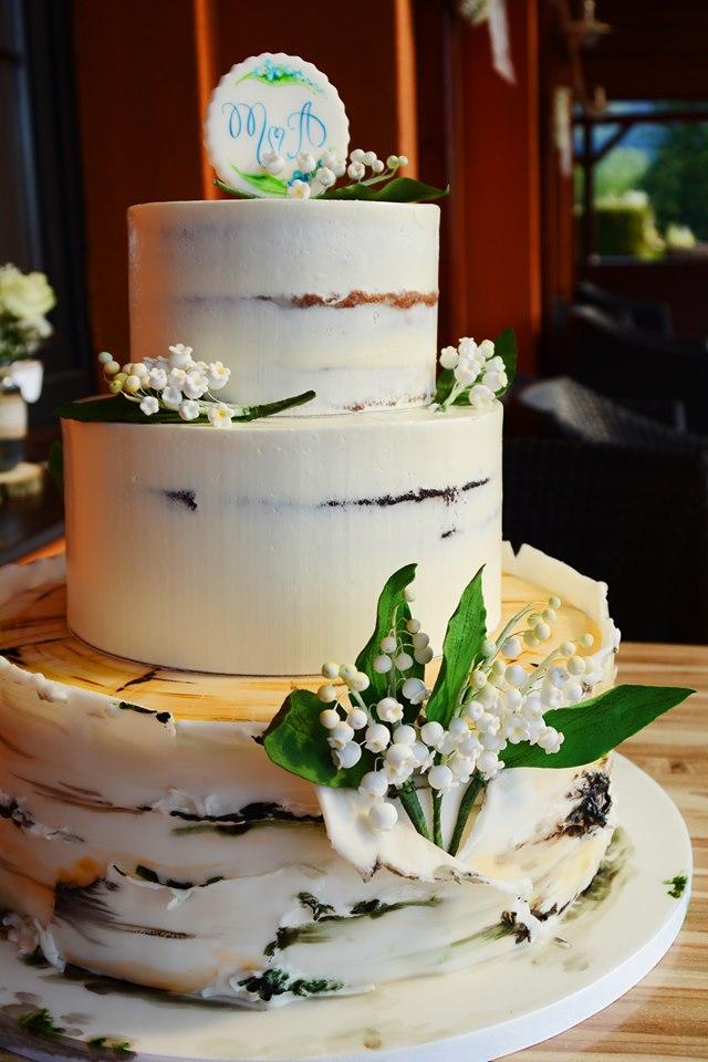 Svatební dort 31.8.2019 - Obrázek č. 1