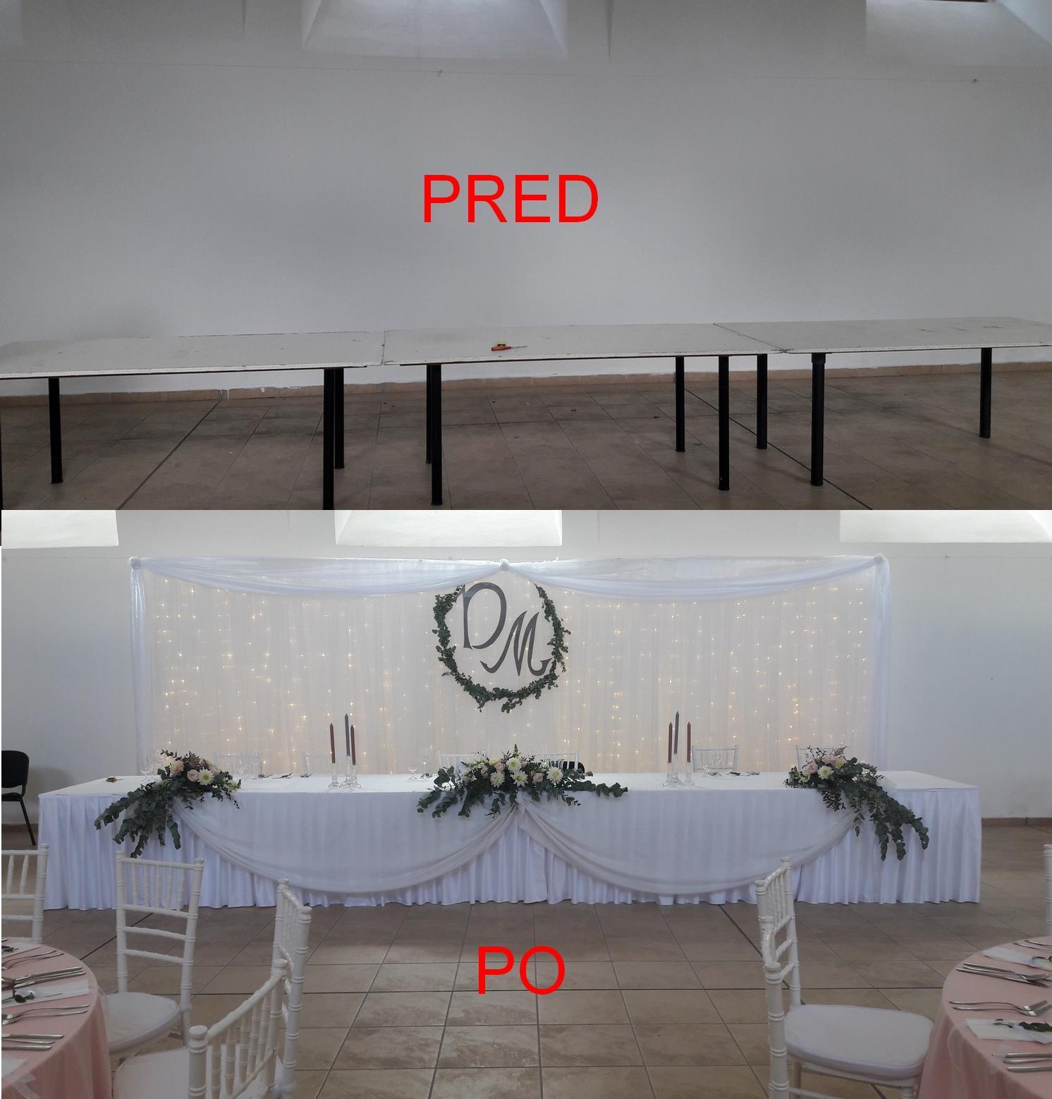 Svetelná stena a nasvietenie sály - Červený kameň - jazdiareň - Svetelná stena a nasvietenie sály - Červený kameň - jazdiareň