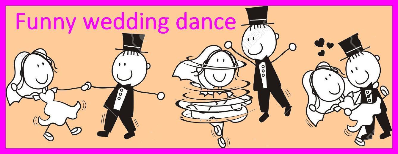 Netradičný tanec novomanželov - mix- Funny dance - Obrázok č. 1