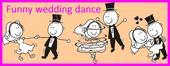 Netradičný tanec novomanželov - mix- Funny dance,