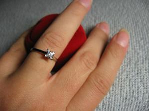 A tímhle začínají moje plány na svatbu.
