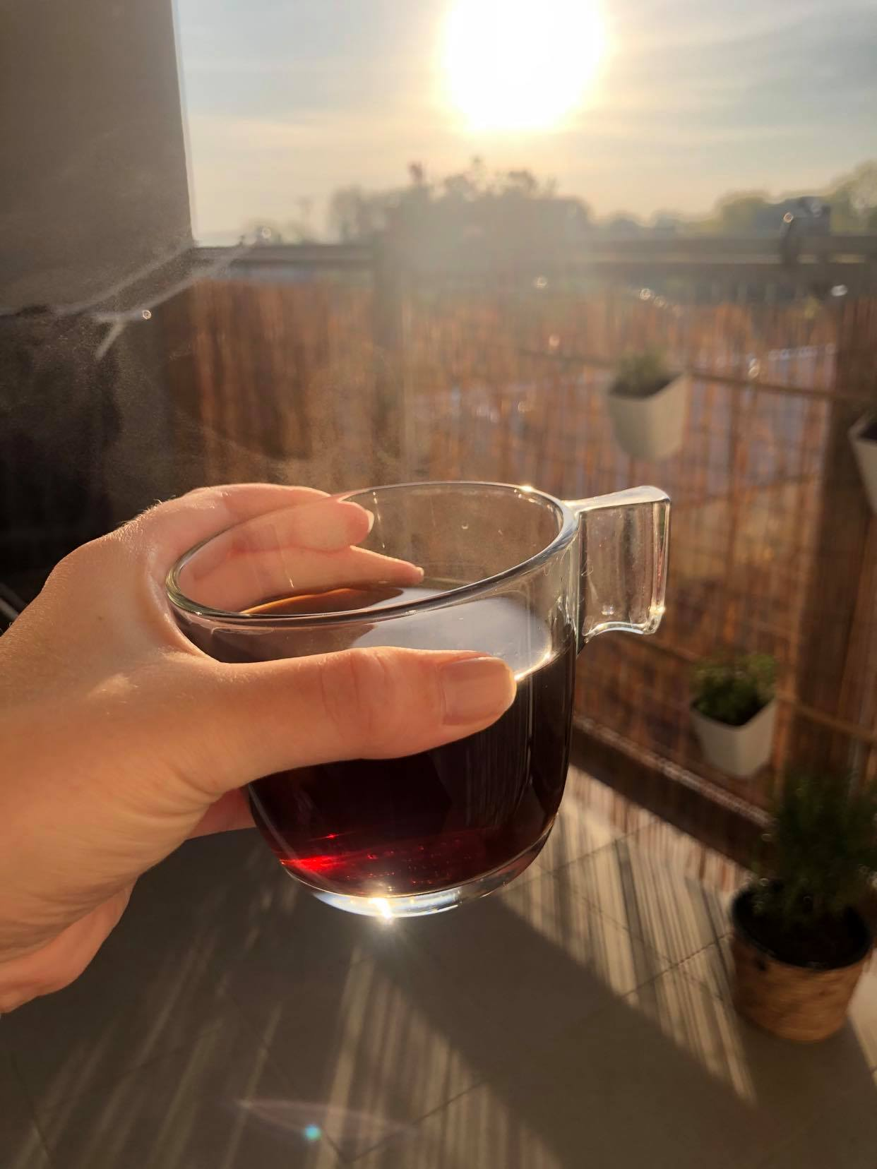 RE -START - Ty rána na balkóně s kávou..